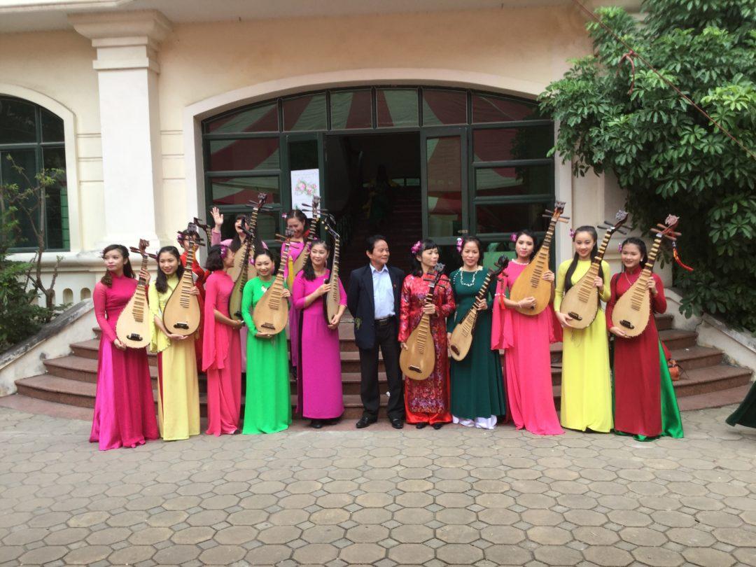 Förderung der Vietnam National Academy of Music (VNAM)