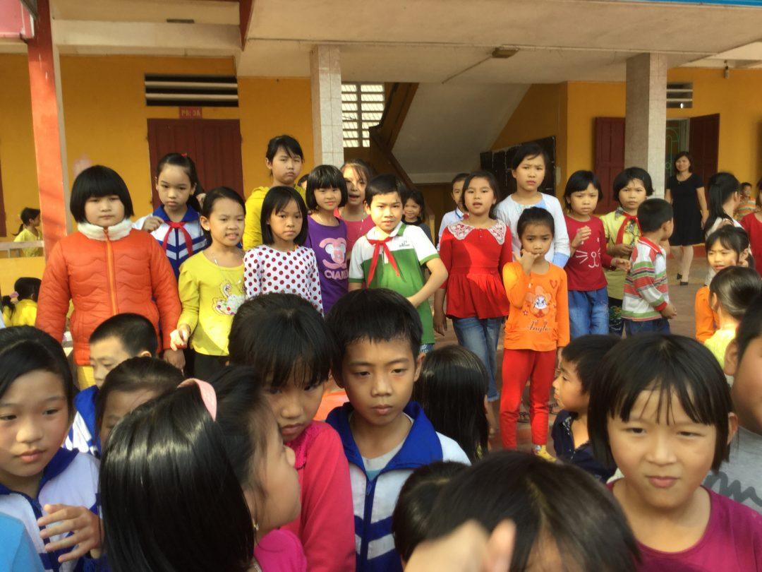 Förderung der Sekundarschule Trưng Vương (THCSTV)